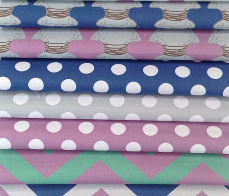 Quiver Full of Arrows Polka Dots in Blue