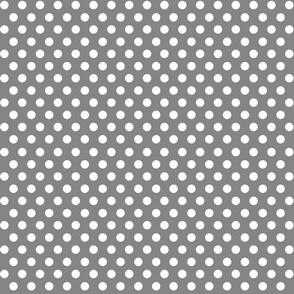 Quiver Full of Arrows Polka Dots in Dark Gray