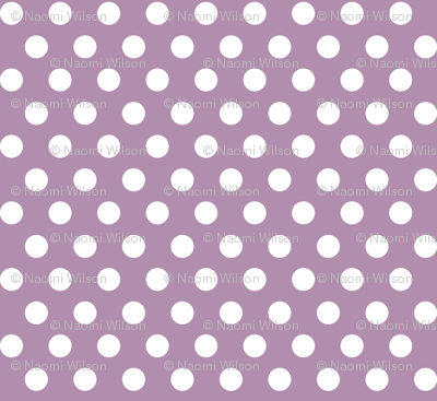 Quiver Full of Arrows Polka Dots in Purple