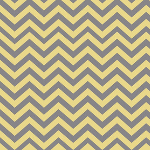Dark Gray and Yellow Chevrons