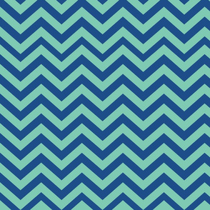 Green and Blue Chevrons