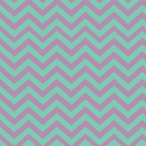 Green and Purple Chevrons