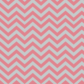 Light Gray and Pink Chevrons