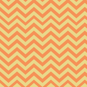 Orange and Yellow Chevrons