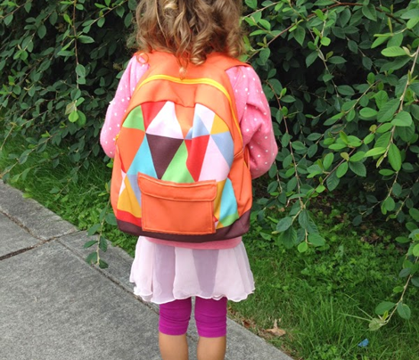 Preschoolers Backpack BLUE