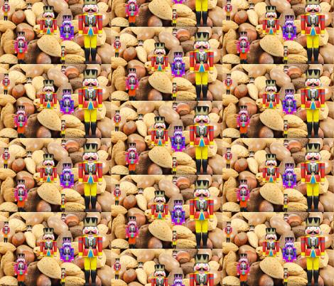 Holiday Nutcrackers fabric by lorileidig on Spoonflower - custom fabric