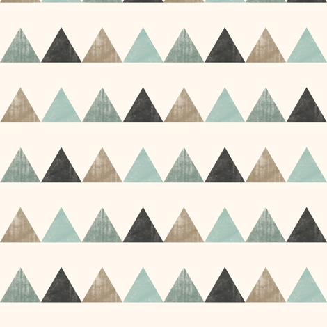 textured triangles fabric by littlearrowdesign on Spoonflower - custom fabric
