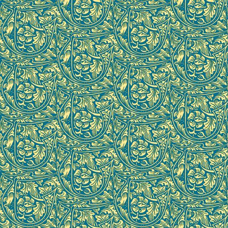 Kelmscott T fabric by amyvail on Spoonflower - custom fabric