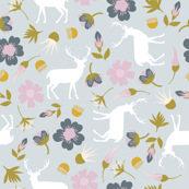 stag in flowers // peony