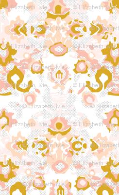 blush swiss dot jubilee // small