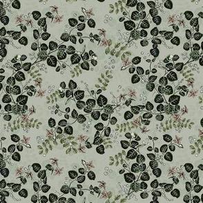 Vintage Blossoms Sage