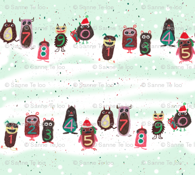 Christmas monsters