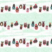 Christmas monsters