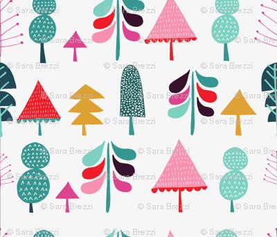 cheerfull tree
