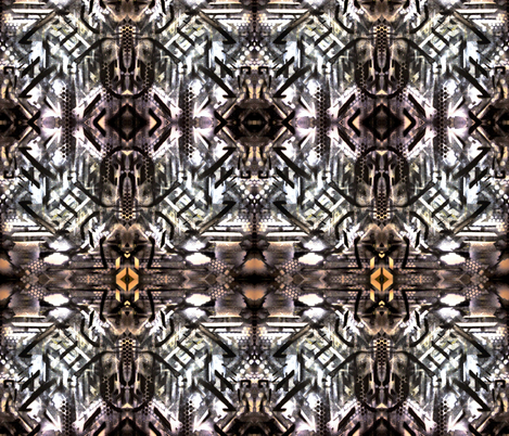 Victorian Tribal  fabric by hrhsf-designs on Spoonflower - custom fabric