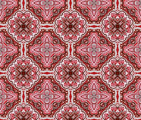 red 1 fabric by kociara on Spoonflower - custom fabric