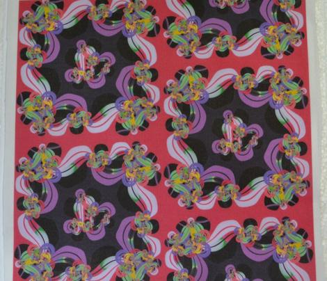 Purple Garlands