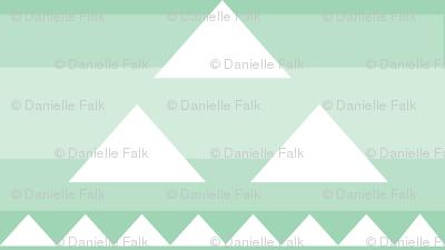 Triangle triad in layered mint