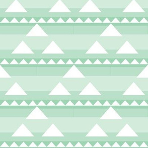 Triangle triad in layered mint