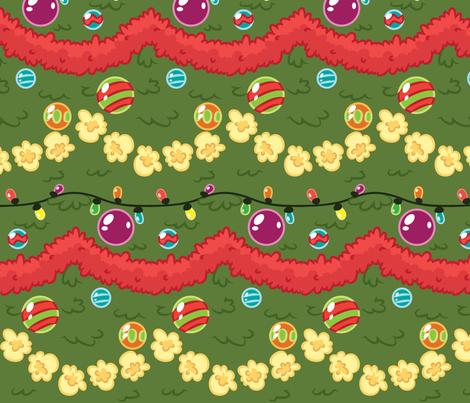 Christmas Tree fabric by kcretcher on Spoonflower - custom fabric