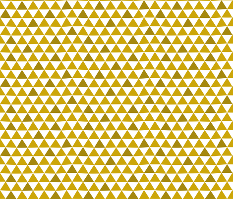Mustard Mountains fabric by christinewitte on Spoonflower - custom fabric