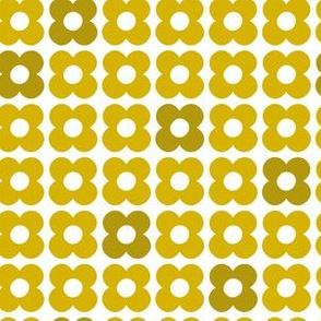Mod Floral Gold