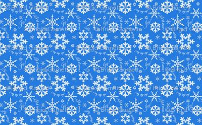 Let It Snow Brilliant Blue