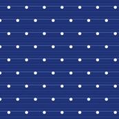 Denim Polka Dots