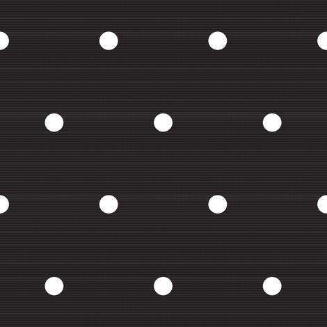 Denim Polka Dots Black fabric by daniellereneefalk on Spoonflower - custom fabric