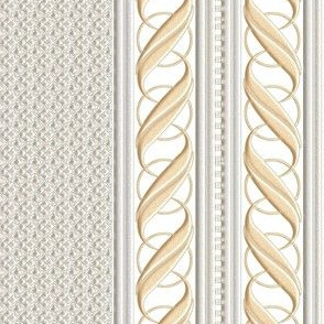 Silver and Gold Border