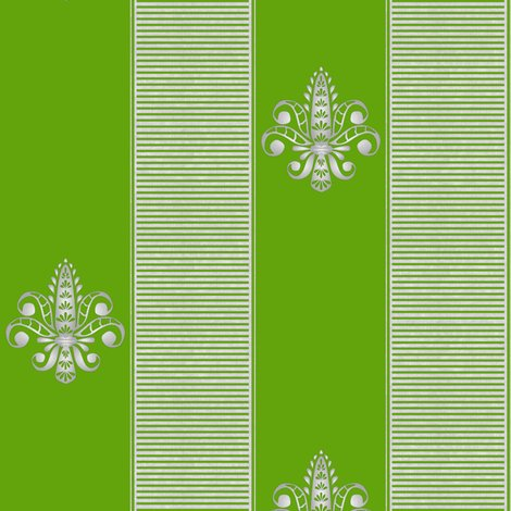 Rsilver_grass_fleur_de_lis_2_inch_stripe_shop_preview