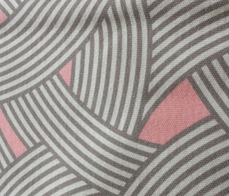 Modern Scandinavian Pastel Pink Curve Graphic