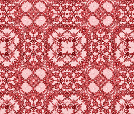 red 3 fabric by kociara on Spoonflower - custom fabric