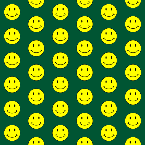 basic-smiley-hunter-small fabric by gimpworks on Spoonflower - custom fabric