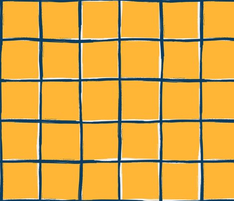 a97bb694c Mustard yellow plaid, pool tiles pattern giftwrap - daria_rosen ...