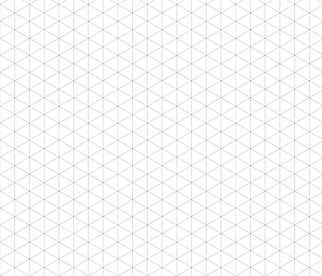 The Grid (White) fabric by sugarxvice on Spoonflower - custom fabric