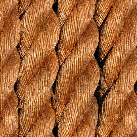 Sail Away: Life Size Ropes in Natural fabric by willowlanetextiles on Spoonflower - custom fabric