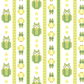 knitted owl wallpaper