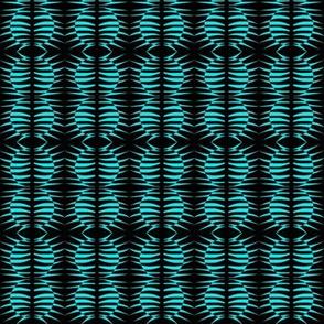Butterfly Cocoons Dark Aqua