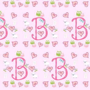 Pinky Initial B - Large