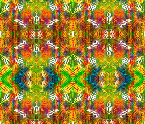 Hawaiian Graffiti Print fabric by hrhsf-designs on Spoonflower - custom fabric