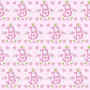 Pinky initials B - small