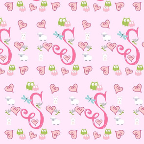 Pinky Initial S - Large