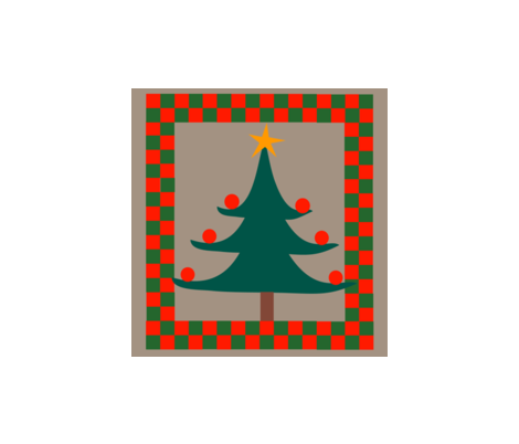 Christmascushion3 fabric by snap-dragon on Spoonflower - custom fabric