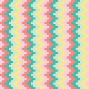 8 bit zigzags (combo 1)
