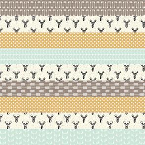 Modern Deer Wholecloth