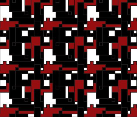 Tech Savvy (Black) fabric by sugarxvice on Spoonflower - custom fabric