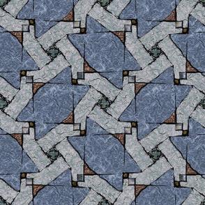 Stone Floor, Blue