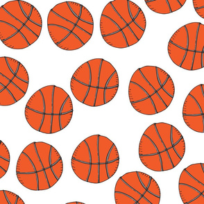 Basketballs white
