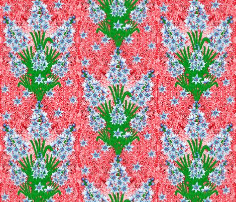 Ottoman Hyacinth fabric by joancaronil on Spoonflower - custom fabric
